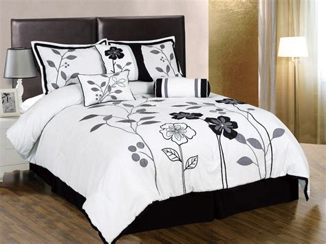 comforter bed most beautiful black and white bedding sets the comfortables