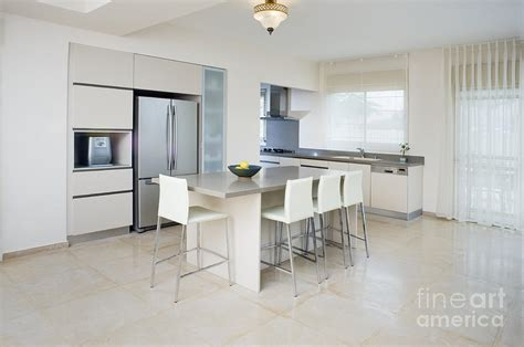 contemporary kitchen tables modern kitchen and dining table photograph by noam armonn
