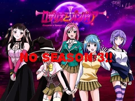 rosario vire season 3 anime talk reasons why there won t be a rosario
