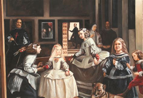 el cuadro de las meninas las meninas copia del cuadro de d velazquez elena