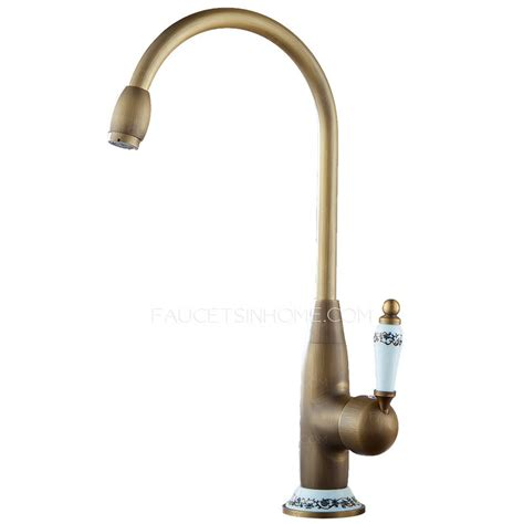 designer faucets designer high arc antique brass ceramic kitchen faucets