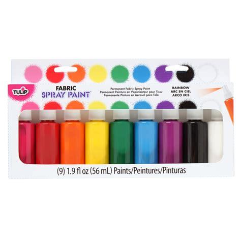 spray paint rainbow fabric spray paint rainbow 9 pack 043014 details