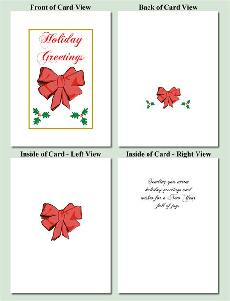 printable card websites for free printable bow new calendar template site