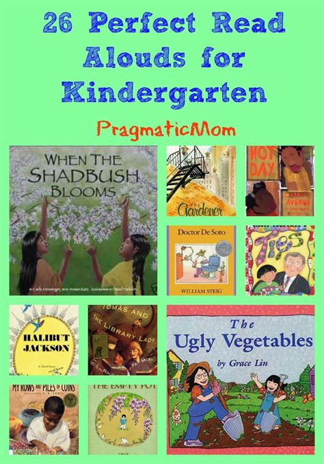 picture books preschool 26 read alouds for kindergarten pragmaticmom