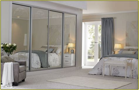 sliding mirrored closet doors for bedrooms installing