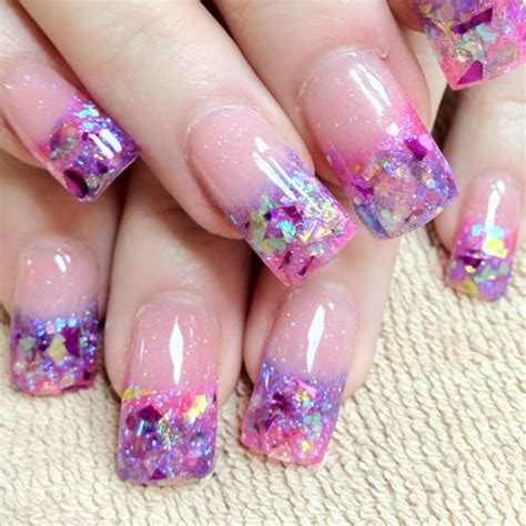 acrylic paint nail tips inspiring acrylic nail designs ideas be modish