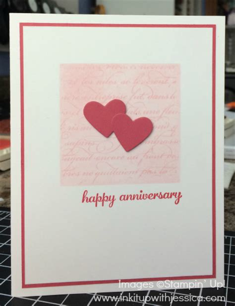 how to make a anniversary card ink it up with tv episode 3 happy anniversary