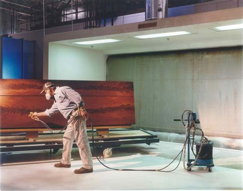 spray painting sop bernhard woodwork ltd