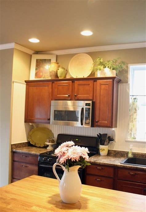 kitchen cabinet decorations decorating above kitchen cabinets freshomes