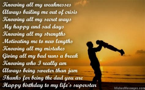for dads birthday birthday poems for sms text messages