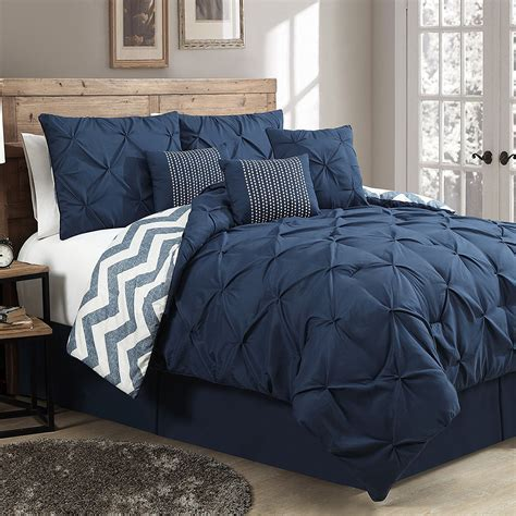 how to set a bed navy bedding and comforter sets