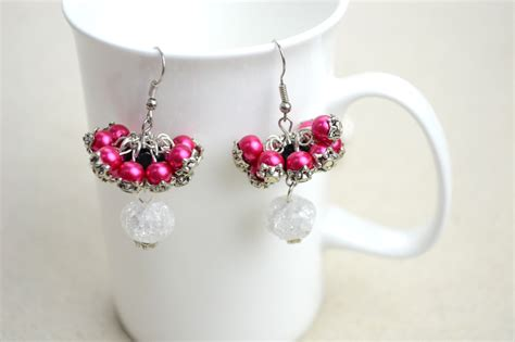 jewelry ideas earrings diy bridesmaid jewelry earrings out of pearls pictures