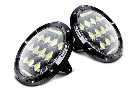replacement led lights oracle lighting led halo fog lights carid
