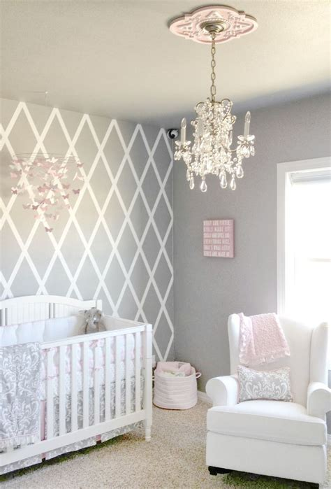 pink and grey nursery decor beautiful gray and pink nursery features our stella gray