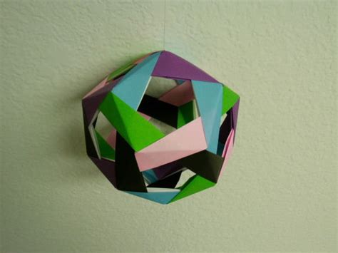 modular origami dodecahedron dodecahedron modular origami