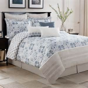 black white and blue comforter sets buy blue and white comforter set from bed bath beyond