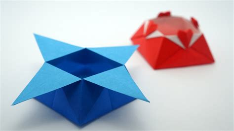 origami box wikihow origami origami how to make an origami box with