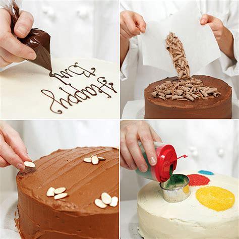 easy decorating ideas easy cake decorating ideas popsugar food