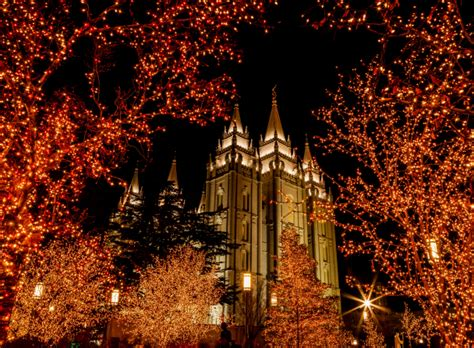 salt lake temple square lights what to do at temple square during every season temple