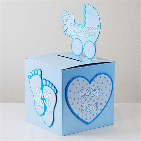 how to make a baby shower card box baby shower wishing well card gift money box pink