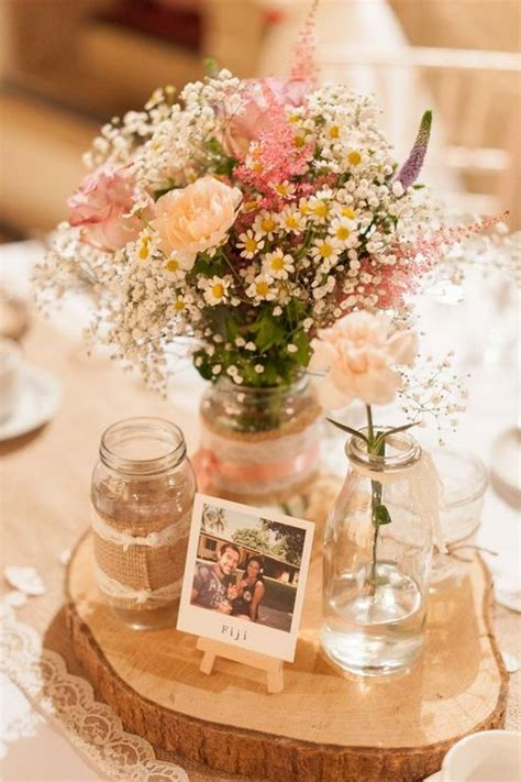 rustic table centerpieces 25 best ideas about rustic wedding tables on