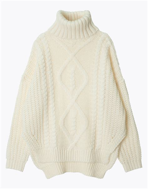 knit turtleneck sweater chunky knit turtleneck cable sweater annakastle