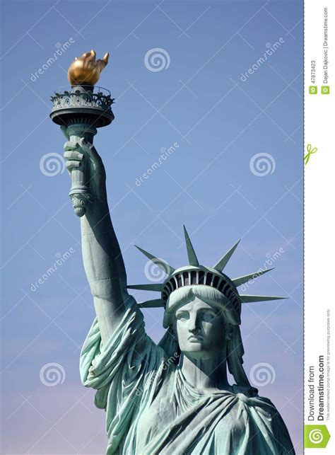 statue of liberty stock image image of destination