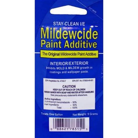 home depot paint texture additive walla walla stay clean i e mildewcide paint additive