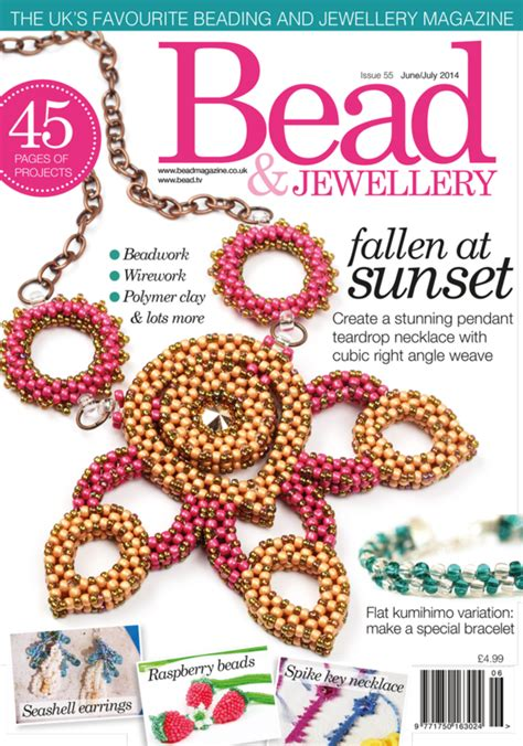 bead and jewellery magazine bead magazine subscription discount uk s jewelry magazine