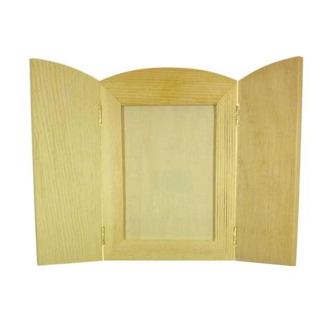 cadre photo 224 volets rabattables en bois brut 224 d 233 corer
