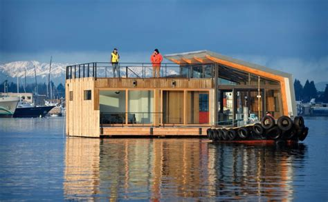 floating houses floating houses that will convince you to trade ground for