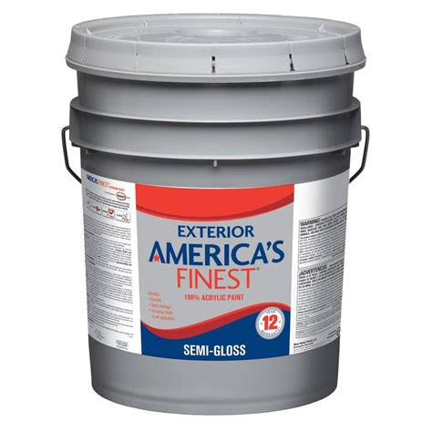home depot paint light glidden premium 5 gal flat exterior paint gl6111 05