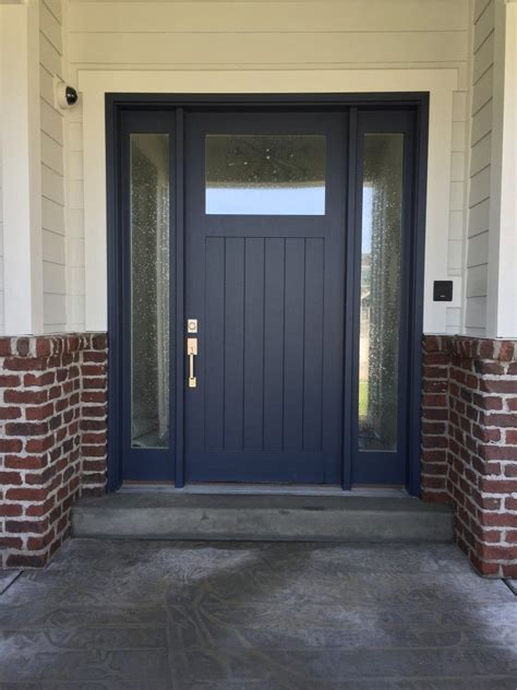 trend navy blue front doors hearth and home