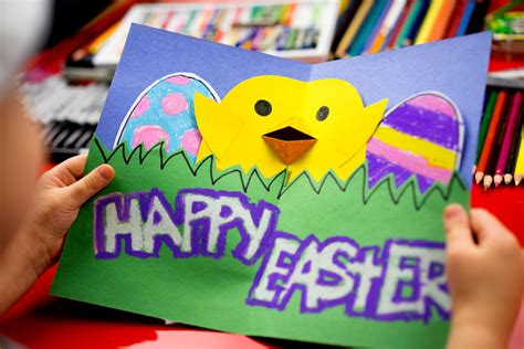 how to make a easter card how to make a pop up easter card for hub