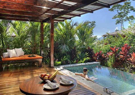 tropical patio design small plunge pools design ideas awesome small backyard pools