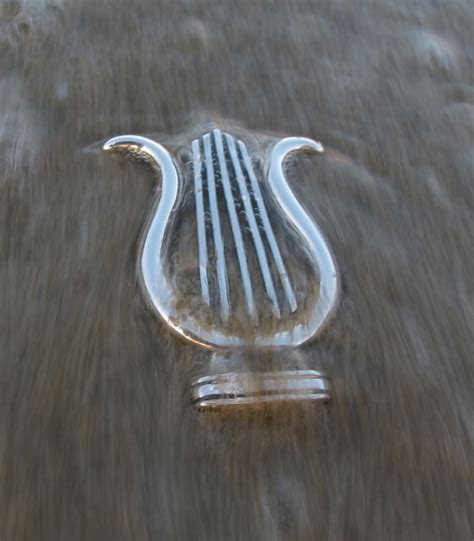 lyre musical instrument brooches