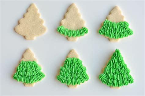 tree sugar cookie decorating how to make tree sugar cookies