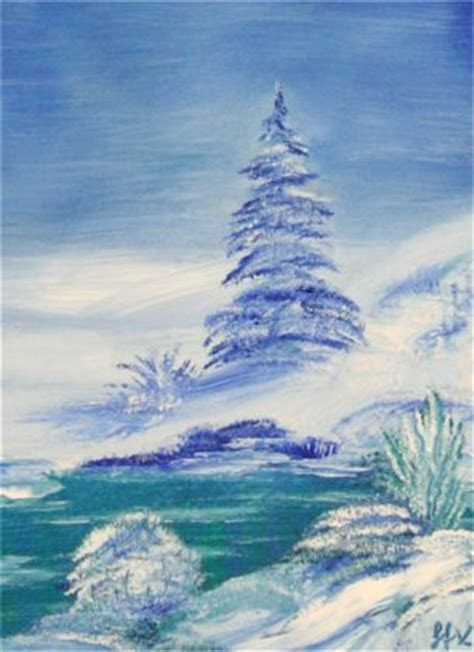 bob ross paintings for beginners bob ross tribute painting winter landscape with