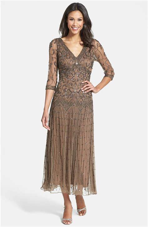 pisarro nights beaded dress pisarro nights beaded mesh dress sz 12 chocolate ebay