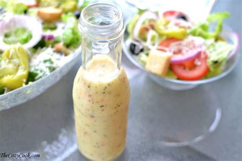 copycat olive garden salad dressing the cozy cook
