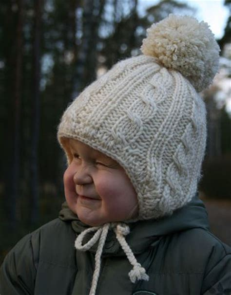 knit hat with ear flaps free patterns pin by cecilie bertelsen on baby boy patterns and ideas