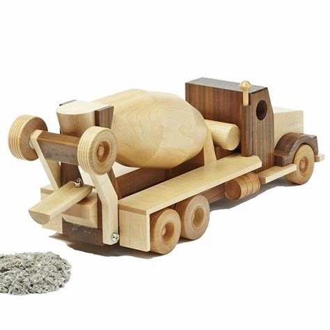 woodworking toys construction grade concrete truck woodworking plan from