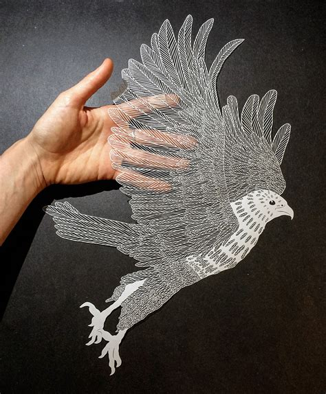 craft drawing paper incredibly detailed cut paper by maude white