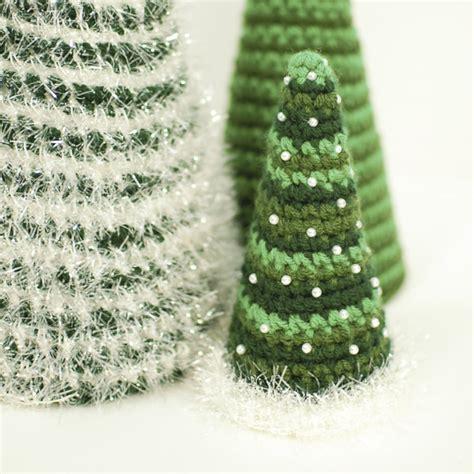 free crochet tree pattern cone tree crochet patterns petals to picots