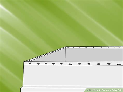 baby crib set up how to set up a baby crib 9 steps with pictures wikihow