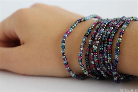 how to make a beaded wrap bracelet beaded wrap bracelet tutorial kid craft