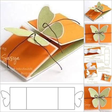 idea of greeting cards wonderful diy butterfly greeting card