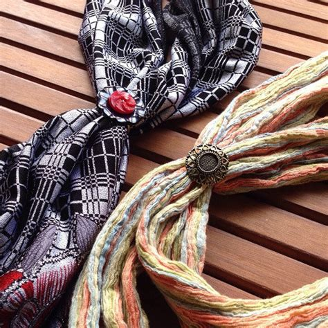 how to make scarf jewelry how to make a scarf ring allfreejewelrymaking