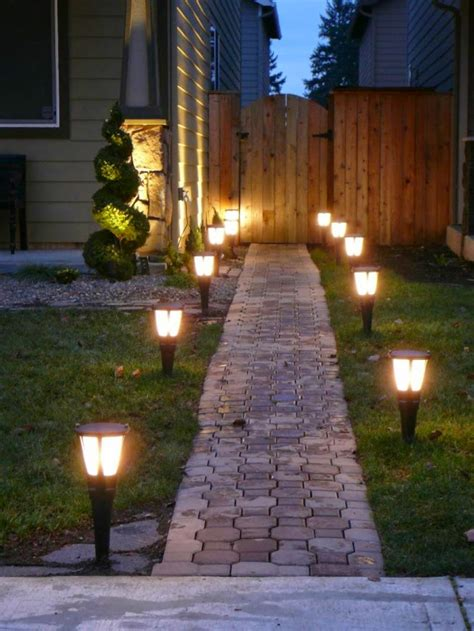 light garden how to use led garden lights for garden decoration 37 ideas