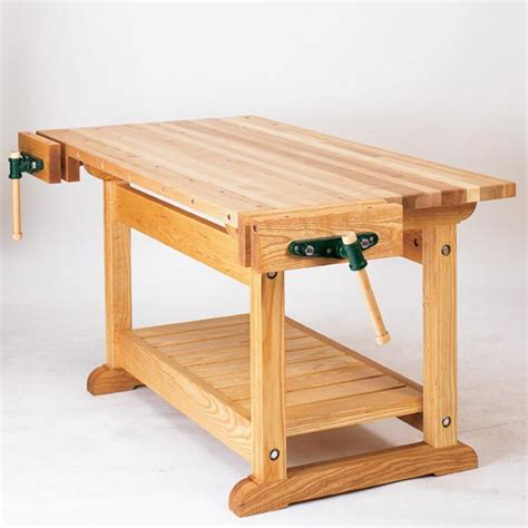 workbench woodworking plans traditional workbench woodworking plan from wood magazine
